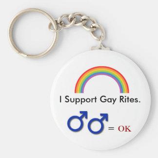 Llavero gay de los ritos