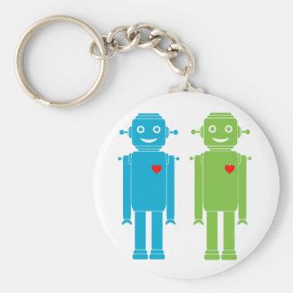 Llavero gay de los robots de LGBT