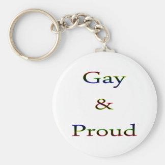 Llavero gay y orgulloso