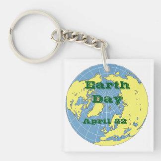 Llavero - globo para celebrar Día de la Tierra