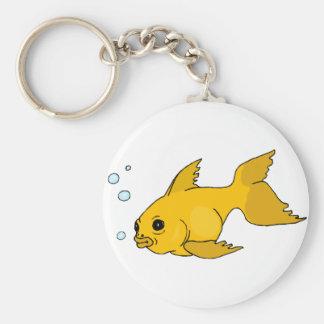 Llavero Goldfish burbujeante