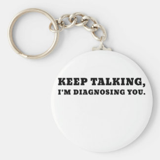 Llavero Guarde el hablar de Im que le diagnostica