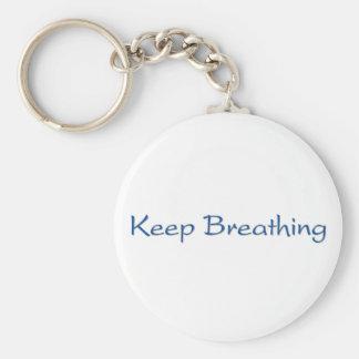 Llavero Guarde el respirar