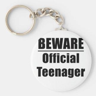 Llavero Guárdese del adolescente oficial