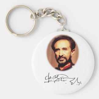 Llavero Haile Selassie