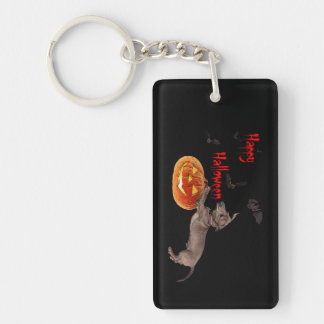 Llavero Happy Halloween key chain Teckelmanía