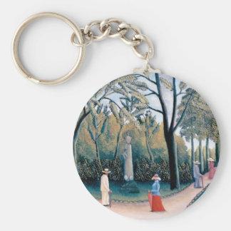 Llavero Henri Rousseau - los jardines de Luxemburgo