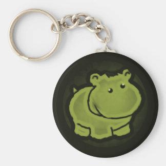 Llavero Hipopótamo lindo