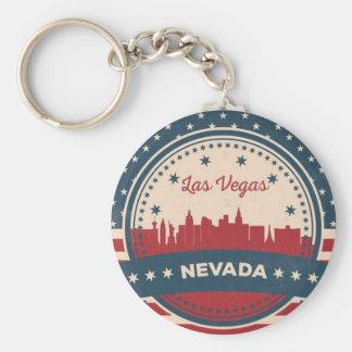 Llavero Horizonte retro de Las Vegas