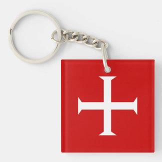 Llavero hospitall teutónico templar de Malta de la Cruz