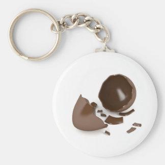 Llavero Huevo de chocolate quebrado