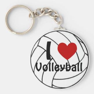 Llavero I voleibol del corazón