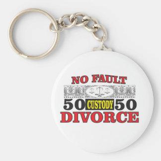 Llavero igualdad 50 del divorcio sin faltas 50
