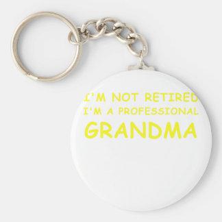 Llavero Im no jubilado Im una abuela profesional
