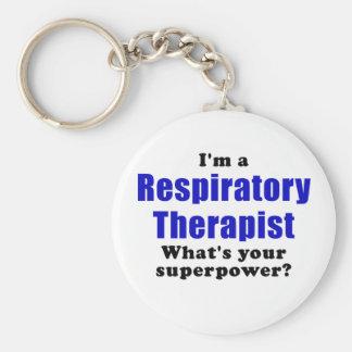 Llavero Im un terapeuta respiratorio cuál es su