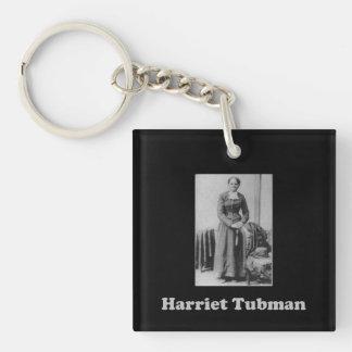 Llavero Imagen blanco y negro de Harriet Tubman