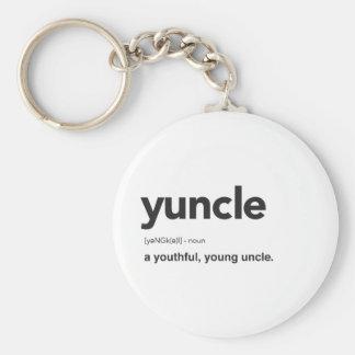 Llavero Impresión divertida de la definición de Yuncle