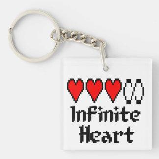 Llavero infinito del corazón