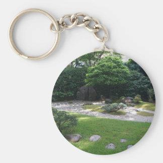 Llavero japonés del jardín #2 del zen del jardín