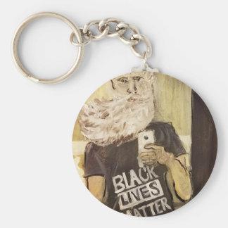 Llavero Juan Brown Selfie/materia negra de las vidas