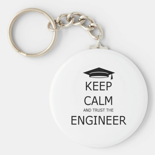 Llavero Keep calm and trust the engineer