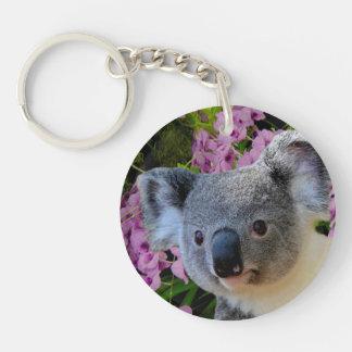 Llavero Koala y orquídeas