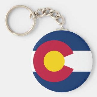 Llavero La bandera de Colorado