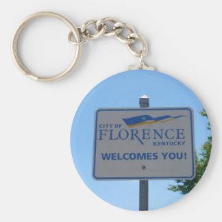 Llavero ¡La ciudad de Florencia le acoge con satisfacción!