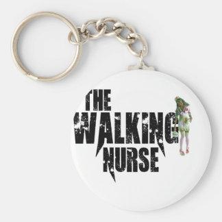 Llavero La enfermera que camina