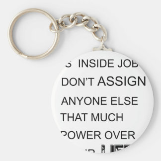 Llavero la felicidad está en trabajo interior no asigna a
