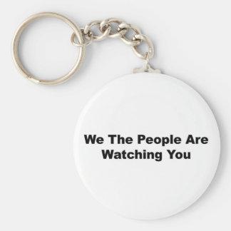 Llavero La gente le estamos mirando