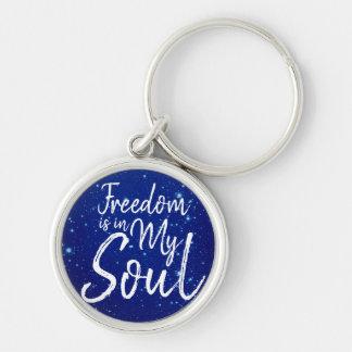 Llavero La libertad está en mi alma