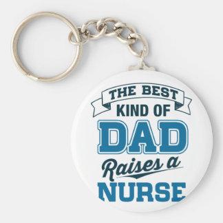 Llavero La mejor clase de papá cría a una enfermera
