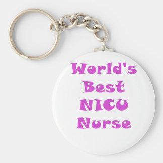 Llavero La mejor enfermera de Nicu de los mundos