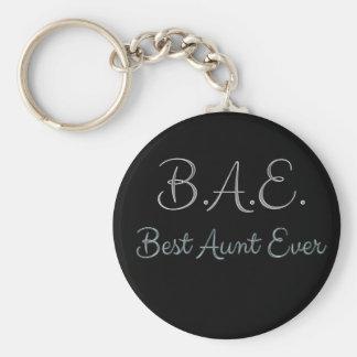 Llavero La mejor tía Ever BAE