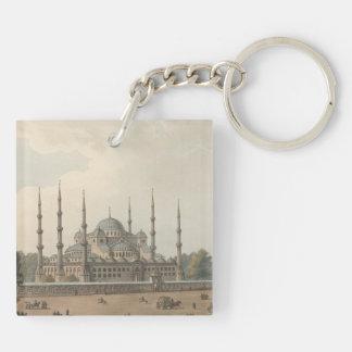 Llavero La mezquita azul del sultán Ahmed, Estambul,