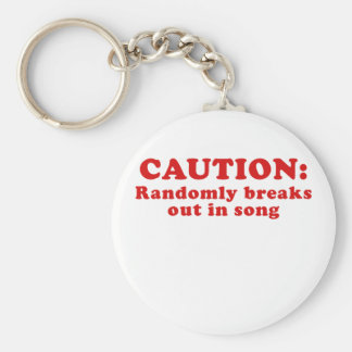 Llavero La precaución explota aleatoriamente en la canción