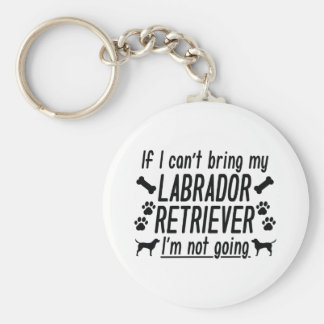 Llavero Labrador retriever