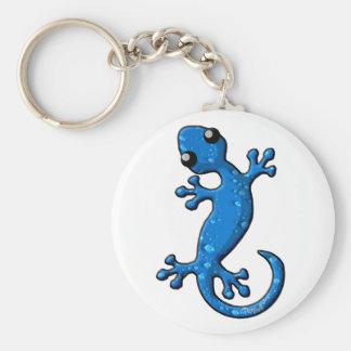 Llavero Lagarto azul del Gecko de la lluvia