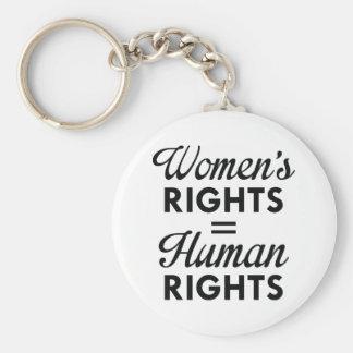 Llavero Las derechas de las mujeres son derechos humanos