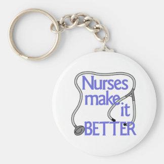 Llavero Las enfermeras lo hacen mejor