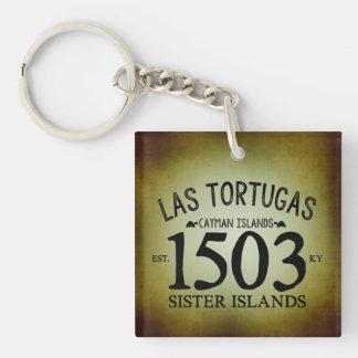 Llavero Las Tortugas EST. 1503 rústico
