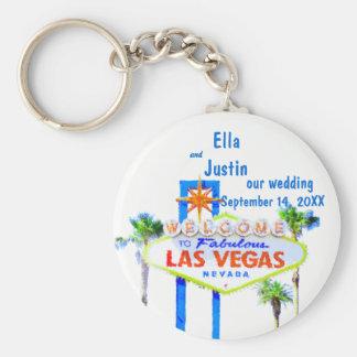 Llavero Las Vegas que casa el recuerdo