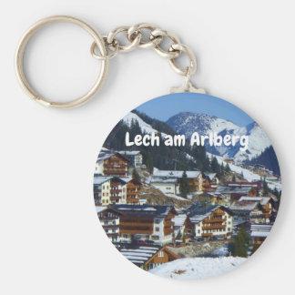 Llavero Lech est Arlberg en el recuerdo de Austria