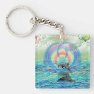 Llavero Levantamiento del delfín