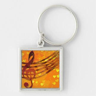 Llavero Llave del violín