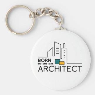 Llavero Llevado ser un arquitecto