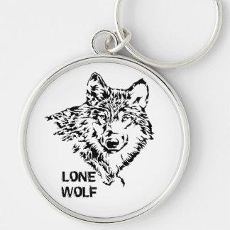 Llavero Lobo solitario 2