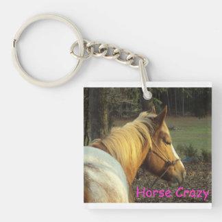 Llavero loco del caballo