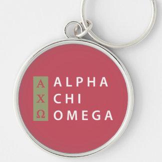 Llavero Logotipo apilado el | alfa de Omega de la ji